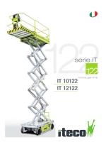 Scarica la scheda dettagliata del pantografo IT12122 Iteco in PDF