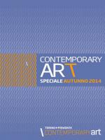 Speciale Autunno 2014 - ContemporaryArt Torino Piemonte
