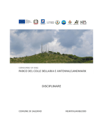 disciplinare - parco del colle bellaria e antenna/landmark salerno