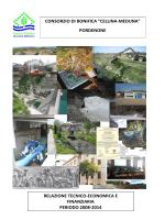 pordenone relazione tecnico-economica e finanziaria periodo 2008