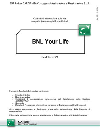 BNL Your Life - BNP Paribas Cardif