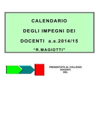 calendario 14-15 magiotti