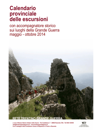 20130708 Elenco completo escursioni 2014 MGR