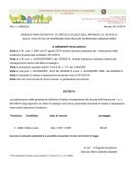 graduatoria infanzia e primaria definitiva MAD 2014-2015