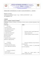 Matematica 1 A - IIS Costa Azara Sorgono