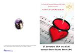 2014 - Invito Beato Giacomo - Santuario Madonna della Grotta