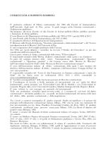 CURRICULUM di ROBERTO ROMBOLI E