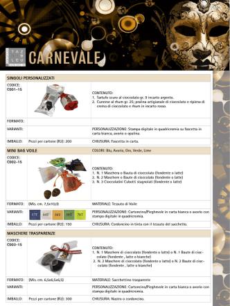 Catalogo Carnevale 2015