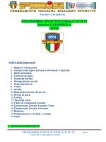 Programma Sportivo Zona Nord 2014-2015