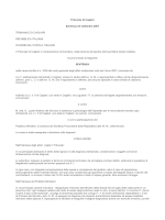 Tribunale di Cagliari sentenza 24.9.2006