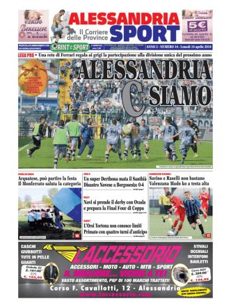 Alessandria Sport del 14/04/2014