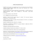 Bando di gara - Aeronautica Militare Italiana