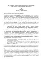 La Calabria nel panorama italiano della migrazione dei minori soli