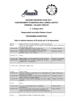 Programma scientifico