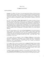 CV per SURPLUS - Università degli Studi di Milano