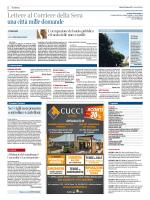 Lettere al Corriere della Sera una città mille domande
