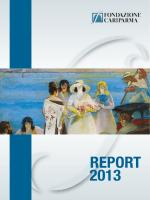 Report 2013 - Fondazione Cariparma