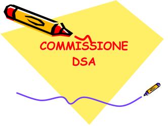 COMMISSIONE DSA slide-2.key