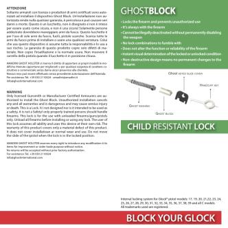 BLOCK YOUR GLOCK - Ghostinternationa.com