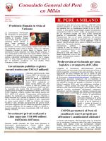 Boletín, octubre 2014 - Ministerio de Relaciones Exteriores
