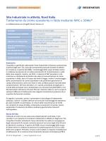 Trattamento da cromoe esavalente in falda mediante MRC e 3DMe