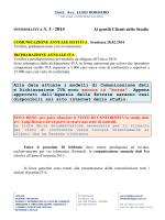 comunicazione dati e dichiarazione iva anno 2013