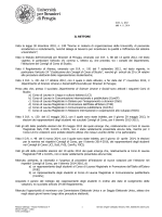 decreto rettorale n. 272 del 4 novembre 2014