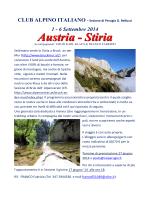 AUSTRIA b - CAI - Sezione di Perugia