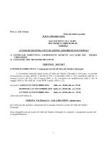 1 Prot. n. 2161/14/msz Data del timbro postale POSTA
