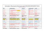 Calendario Nazionale/Internazionale XCO/XCE/XCM/XCP 2014
