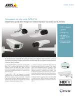 Telecamere di rete serie AXIS P13