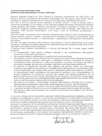 Davide Carollo - Fondazione Alma Mater