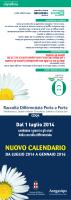 calendario 2014 raccolta rifiuti