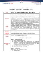 """RSPP/ASPP modulo B6""- 24 ore"