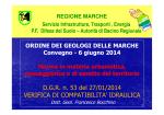 Jesi 06_06_2014_ F.Bocchino - Ordine dei Geologi delle Marche