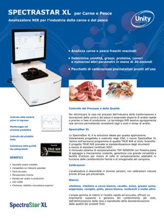 Carne e Pesce - Hellma Analytics