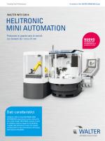 HELITRONIC MINI AUTOMATION