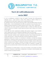 Torri di raffreddamento serie MEP
