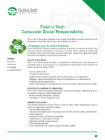 Fluid-o-Tech Corporate Social Responsibility