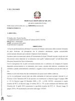 Pagina 1 N. R.G. 2014/16020 TRIBUNALE ORDINARIO di MILANO