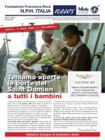 Newsletter - Fondazione Francesca Rava – N.P.H. Italia Onlus