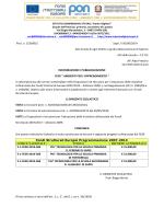 PUBBLICIZZAZIONE E-1-FESR-2014-586