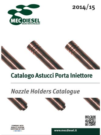 2014/15 Catalogo Astucci Porta Iniettore