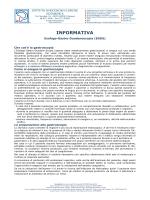 Informativa Gastroscopia