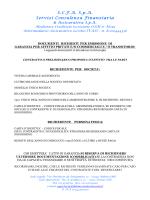 Elenco documentazione per affitti