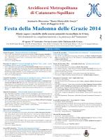 Torre di Ruggiero (CZ) Festa della Madonna delle Grazie 2014