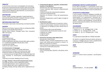 Brochure del corso di formazione 2014 (pdf-829Kb)