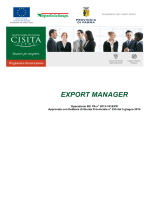 EXPORT MANAGER - Cisita Parma