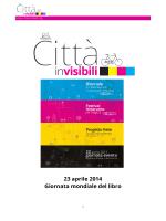 23 aprile 2014 Giornata mondiale del libro