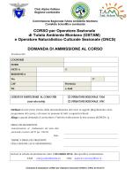 Domanda_candidatura - CAI